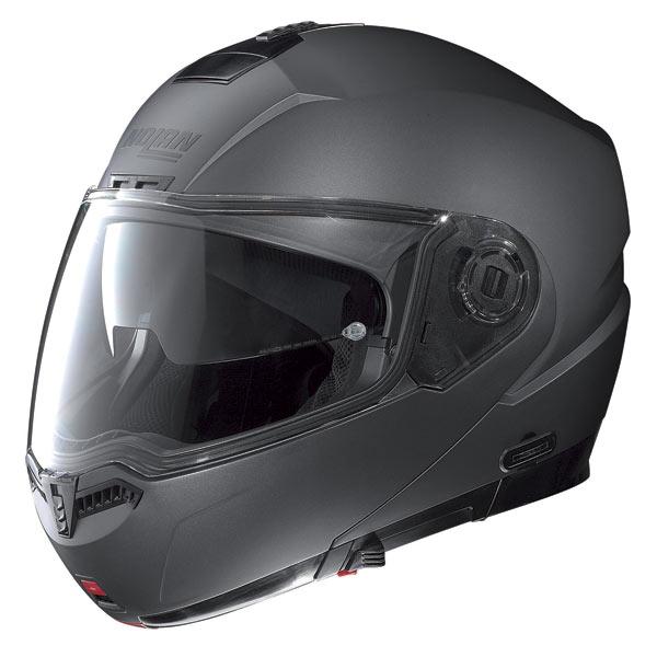 Casco moto Nolan N104 Classic N-Com lava grey opaco
