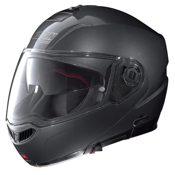 Helmet flip-up Nolan N104 Evo Classic N-Com lava grey