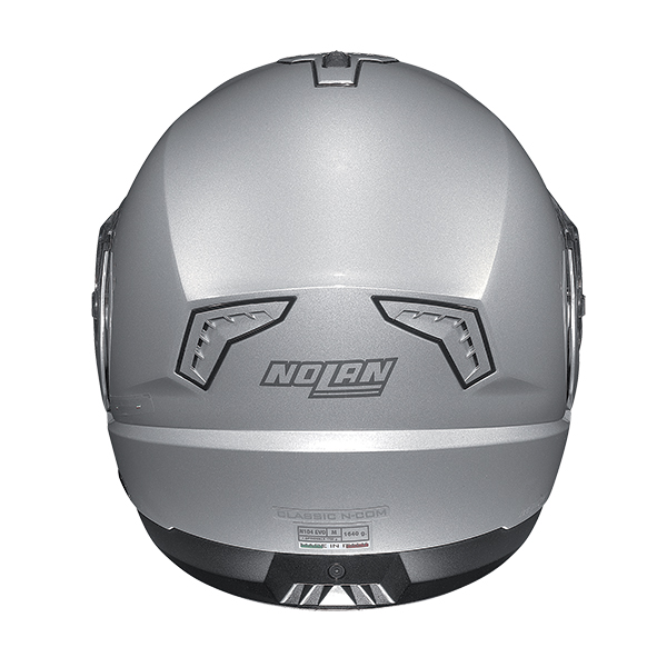 Nolan N104 Evo Scovery N-Com flip off helmet White Blue