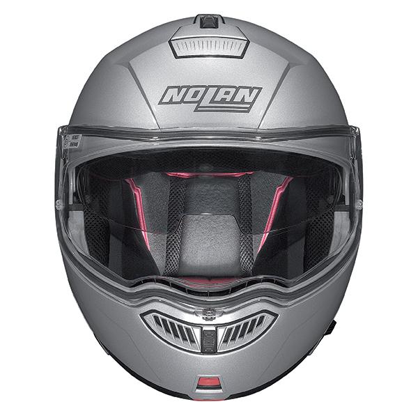 Nolan N104 Evo Scovery N-Com flip off helmet White Black