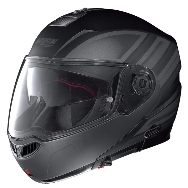 Motorcycle Helmet flip-up Nolan N104 Evo Voyage N-Com matt black