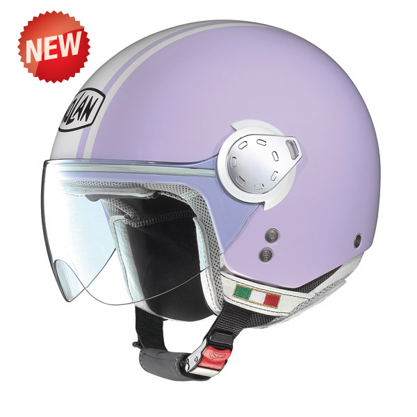 Casco moto Nolan N20 Traffic Caribe Plus Lavander