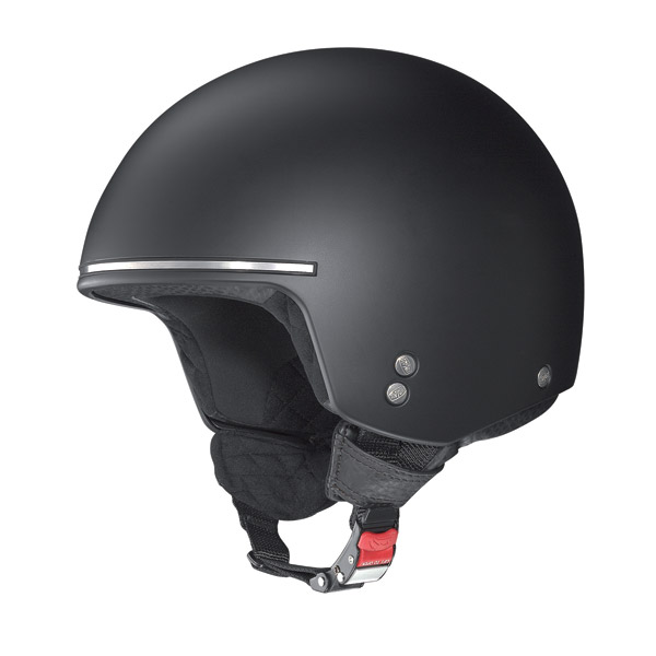 Nolan N20 Naked Chopper jet helmet flat black