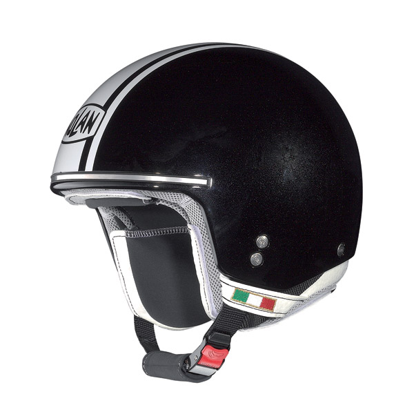 Nolan N20 Naked Caribe Plus jet helmet metal black