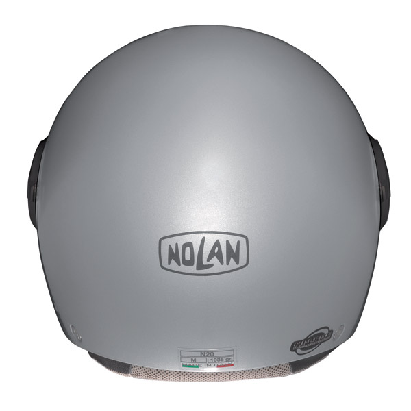 Casco moto demi-jet Nolan N20 Traffic Caribe Plus Pearl Purple