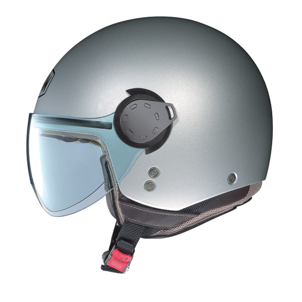 Casco demi-jet  Nolan N20 Traffic Combat Plus Rosa Perla Opaco