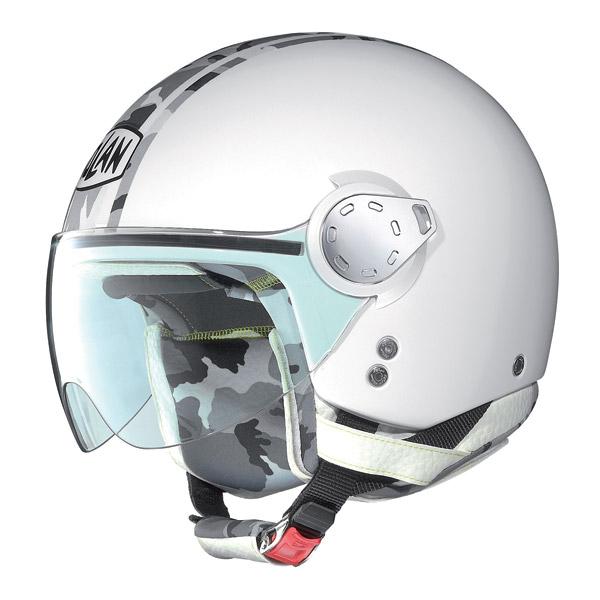Helmet demi-jet  Nolan N20 Traffic Combat Plus Metal White