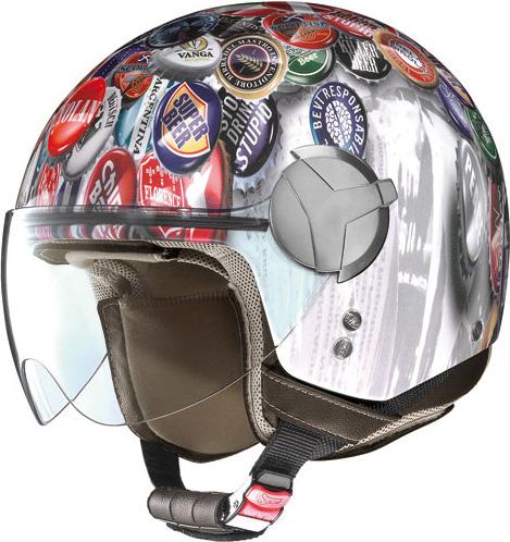 Casco moto Nolan N20 Traffic Set Plus caps