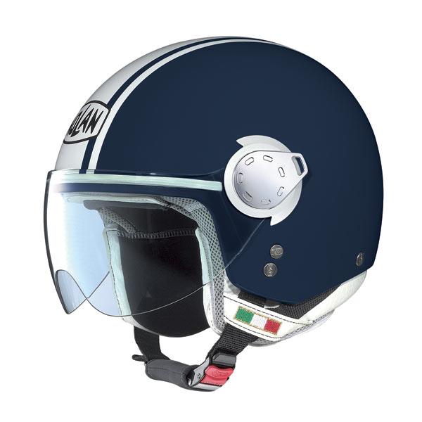 Casco moto Nolan N20 Traffic Caribe Plus Blue Navy