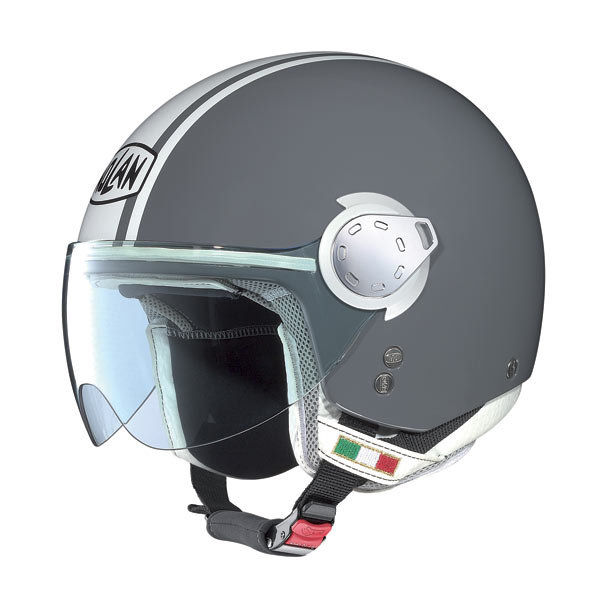 Casco moto Nolan N20 Traffic Caribe Plus Cool Grey