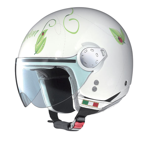 Casco moto Nolan N20 Traffic Set Plus Ladybug