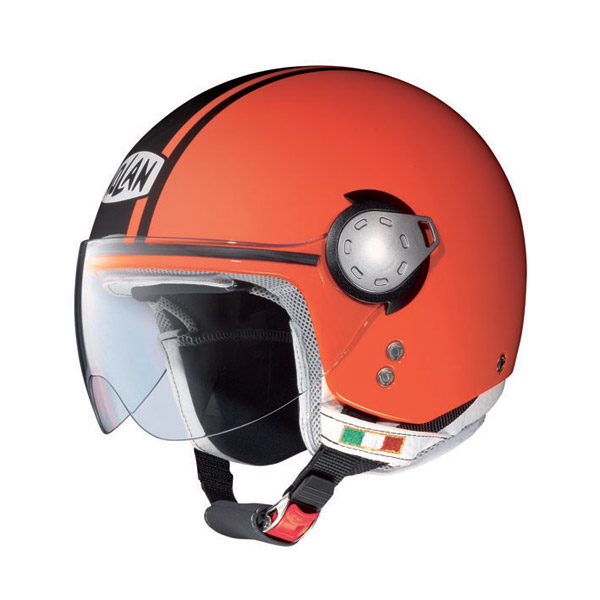 Nolan N20 Traffic Caribe Plus jet helmet Fluo Orange