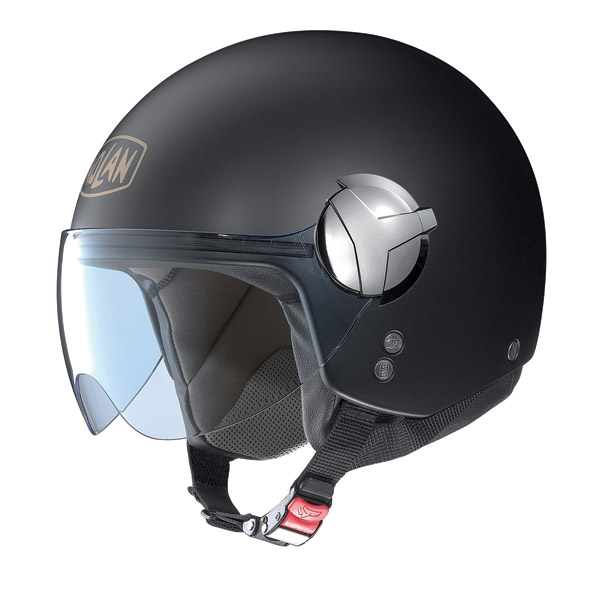 Nolan N20 Traffic 40 th Edition N-Com jet helmet flat black