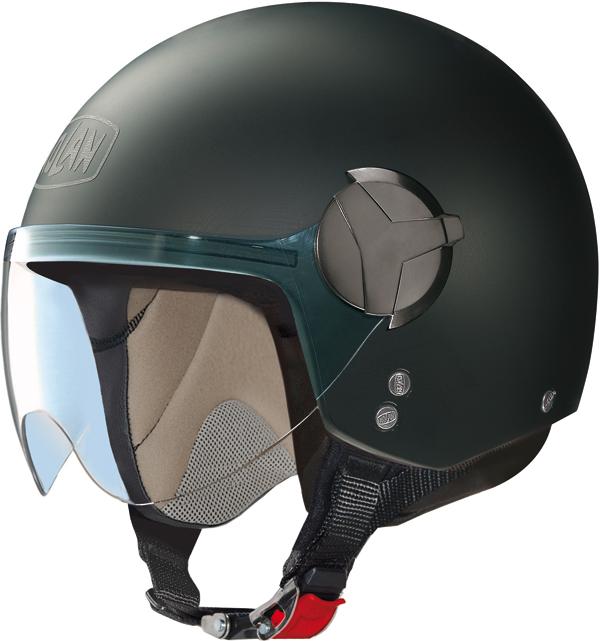 Casco moto Nolan N20 Traffic Easy nero opaco