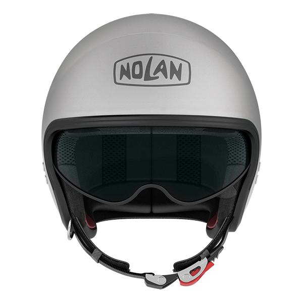 Nolan N21 Caribe jet helmet Matte Black White