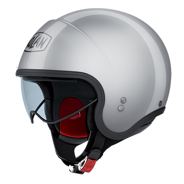 Nolan N21 Classic jet helmet Silver