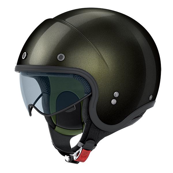 Nolan N21 Durango jet helmet Military green glossy