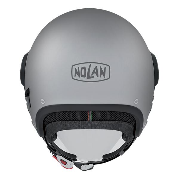 Nolan N21 Visor Asso jet helmet Black Matte White