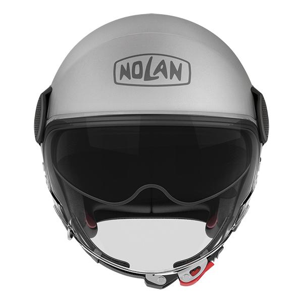 Nolan N21 Visor Duetto jet helmet White Red
