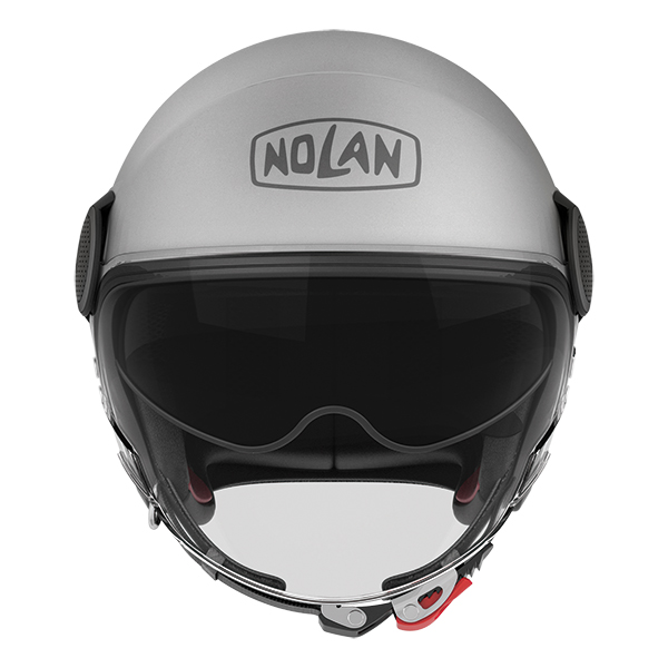 Nolan N21 Visor Duetto jet helmet White Orange