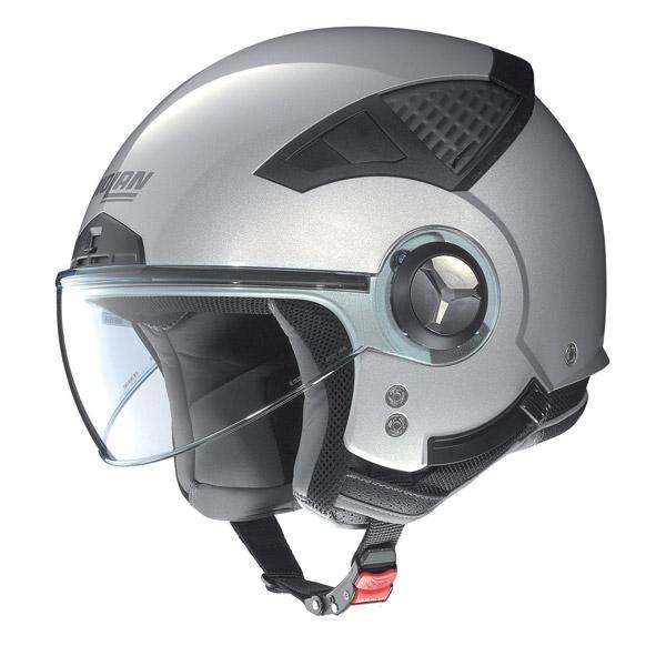 Casco moto Nolan N33 Special salt silver