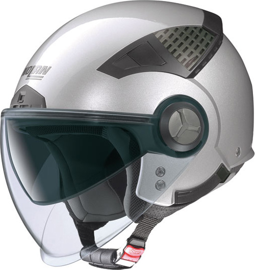 NOLAN N33 Classic jet helmet col. platinum silver