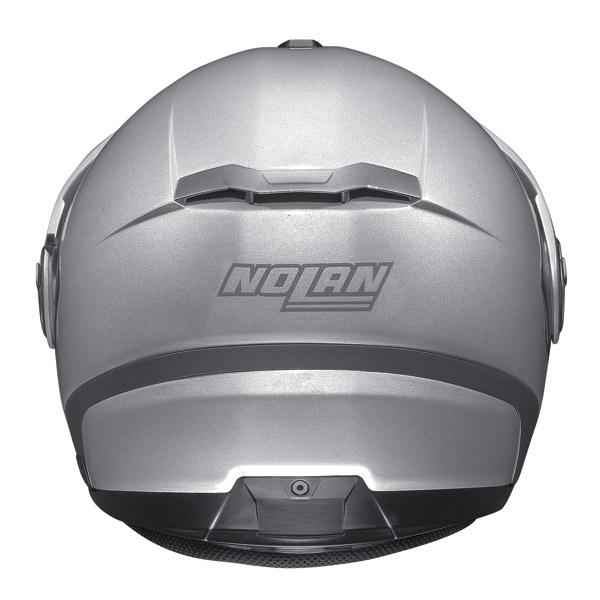 Motorcycle Helmet Jet Nolan N40 N-Com Classic Metal White