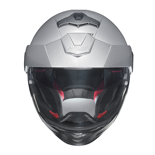 Nolan N40Full Hi-Visibility Plus N-Com flip off helmet Yellow