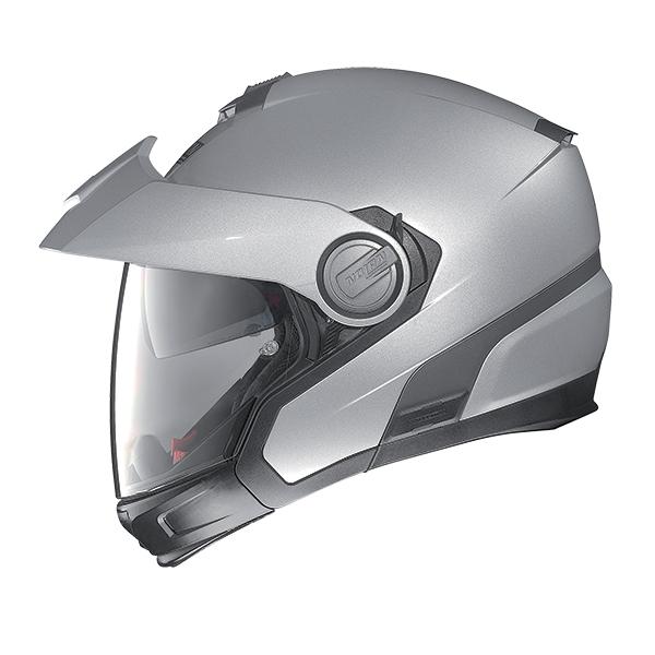 Nolan N40Full Hi-Visibility Plus N-Com flip off helmet Orange