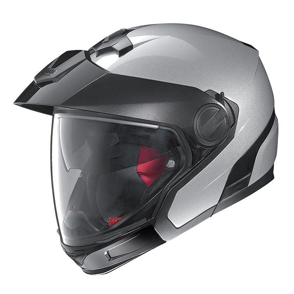 Nolan N40Full SpecialPlus N-Com flip off helmet Silver