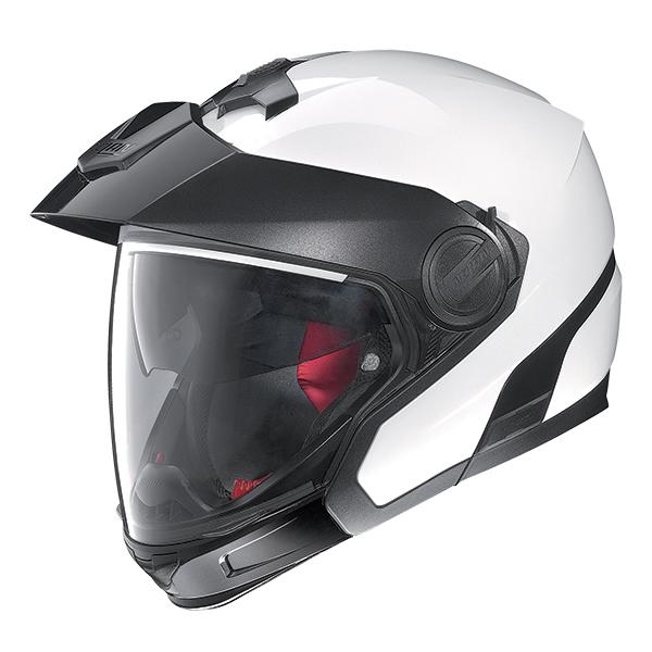 Nolan N40Full SpecialPlus N-Com flip off helmet White