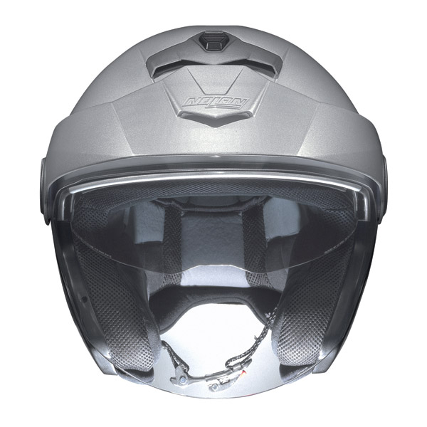 Casco moto Jet Nolan N40 N-Com Alta Visibilità Giallo Fluo