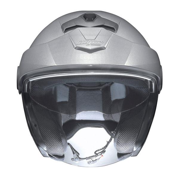 Motorcycle Helmet jet Nolan N40 N-Com Hi-Visibility Fluo Orange