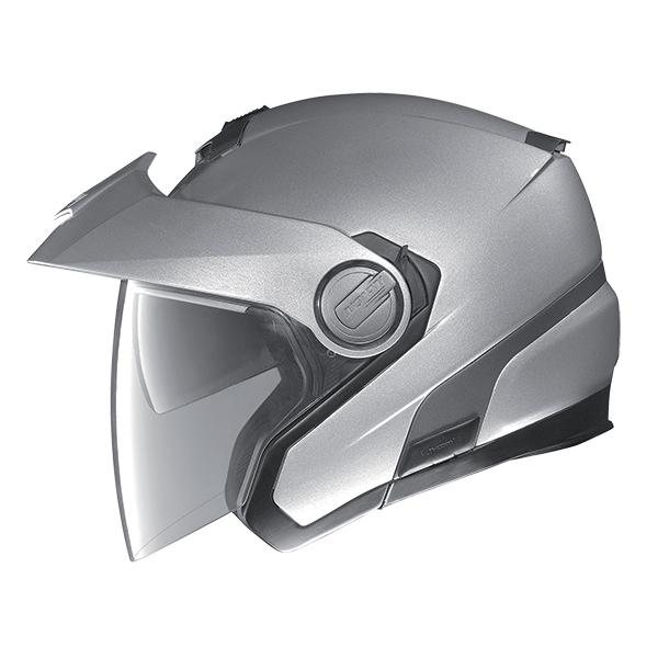 Nolan N40 Special Plus N-Com jet helmet Silver