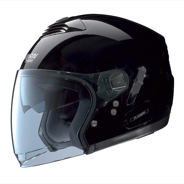 Casco moto Nolan N43E Classic N-Com glossy black