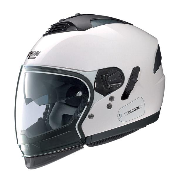 Casco moto Nolan N43E Air Special N-com pure white omol P-J