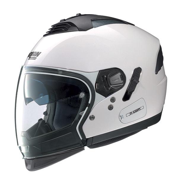 Nolan N43E Air Classic jet helmet metal white