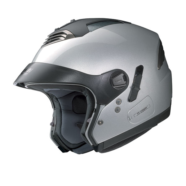 Casco moto Nolan N43E Air Classic cool grey opaco