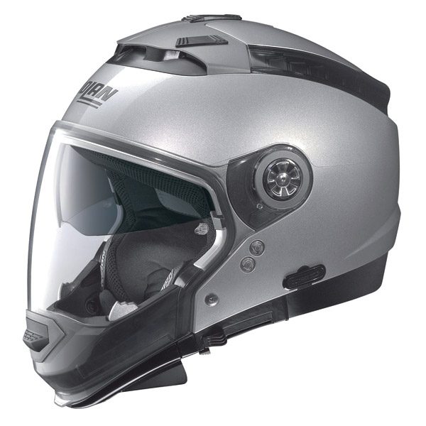Nolan N44 Classic crossover helmet platinum suilver omol. P-J