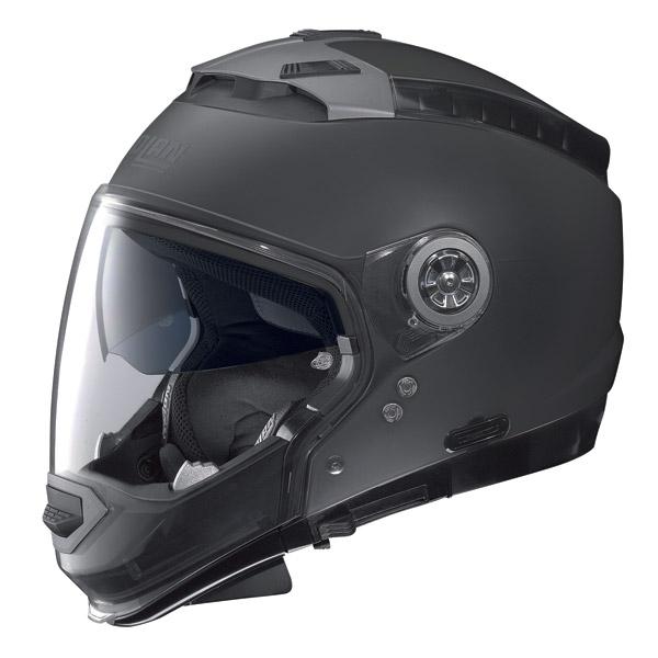 Nolan N44 Classic crossover helmet flat black  omol. P-J