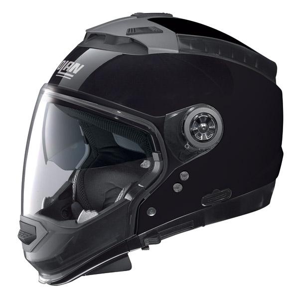 Casco moto Nolan N44 Classic N-com glossy black omol. P-J