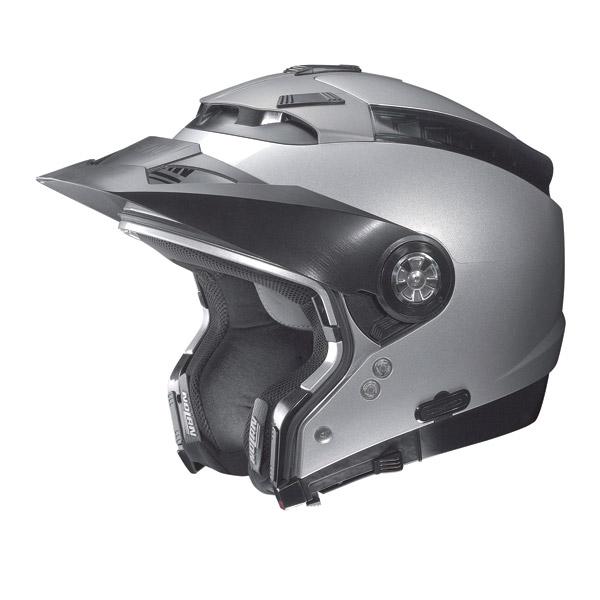 Nolan N44 Classic N-Com crossover helmet Flat military omol. P-J