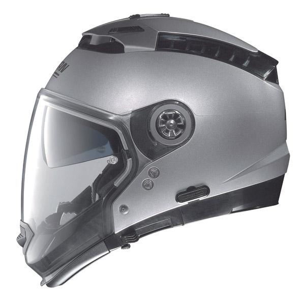 Nolan N44 Special N-Com crossover helmet black graphite omol P-J
