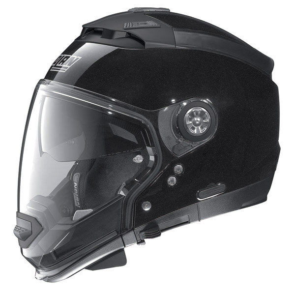 Casco moto Nolan N44 Special N-Com Metal Black omol P-J