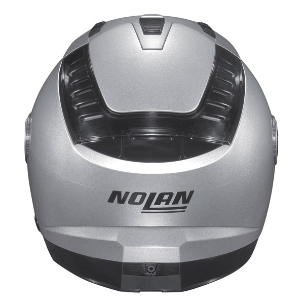 Casco moto Nolan N44 Special N-Com Salt Silver omol P-J