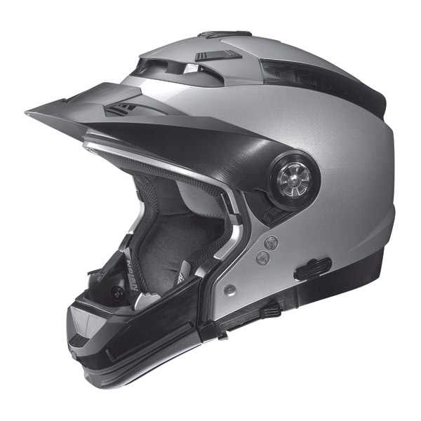 Casco moto Nolan N44 Tech N-Com bianco omol. P-J