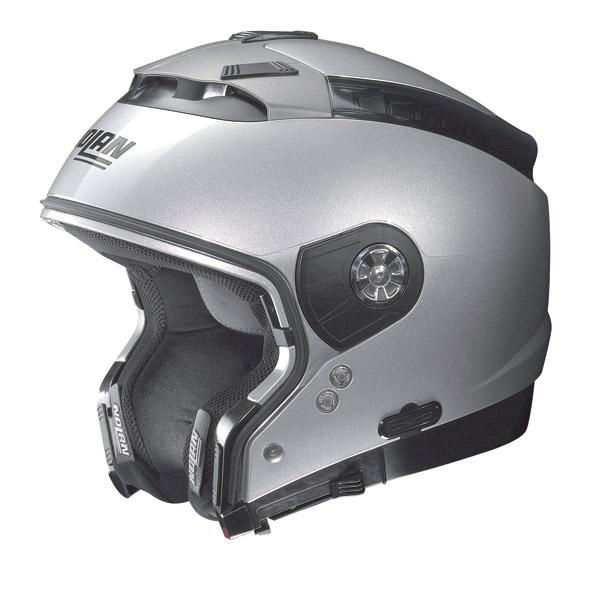 Nolan N44 Tech N-Com crossover helmet Flat Black omol. P-J
