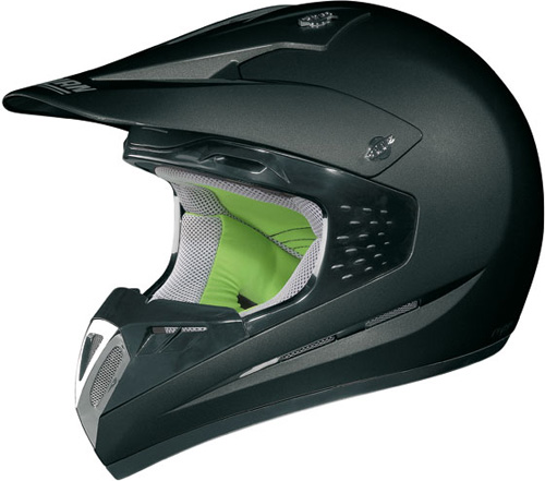 Casco moto off-road Nolan N52 Smart nero opaco