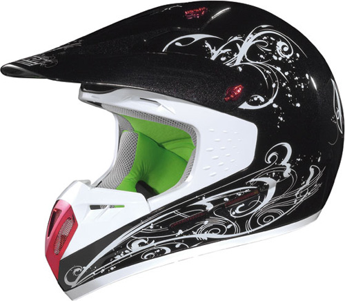 NOLAN N52 Aladdin off-road col. black-white