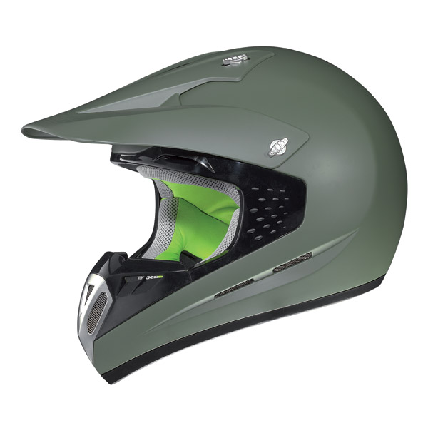 Motorcycle Helmet off-road Nolan N52 Smart flat military green